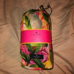 Kate Spade Floral Picnic Blanket